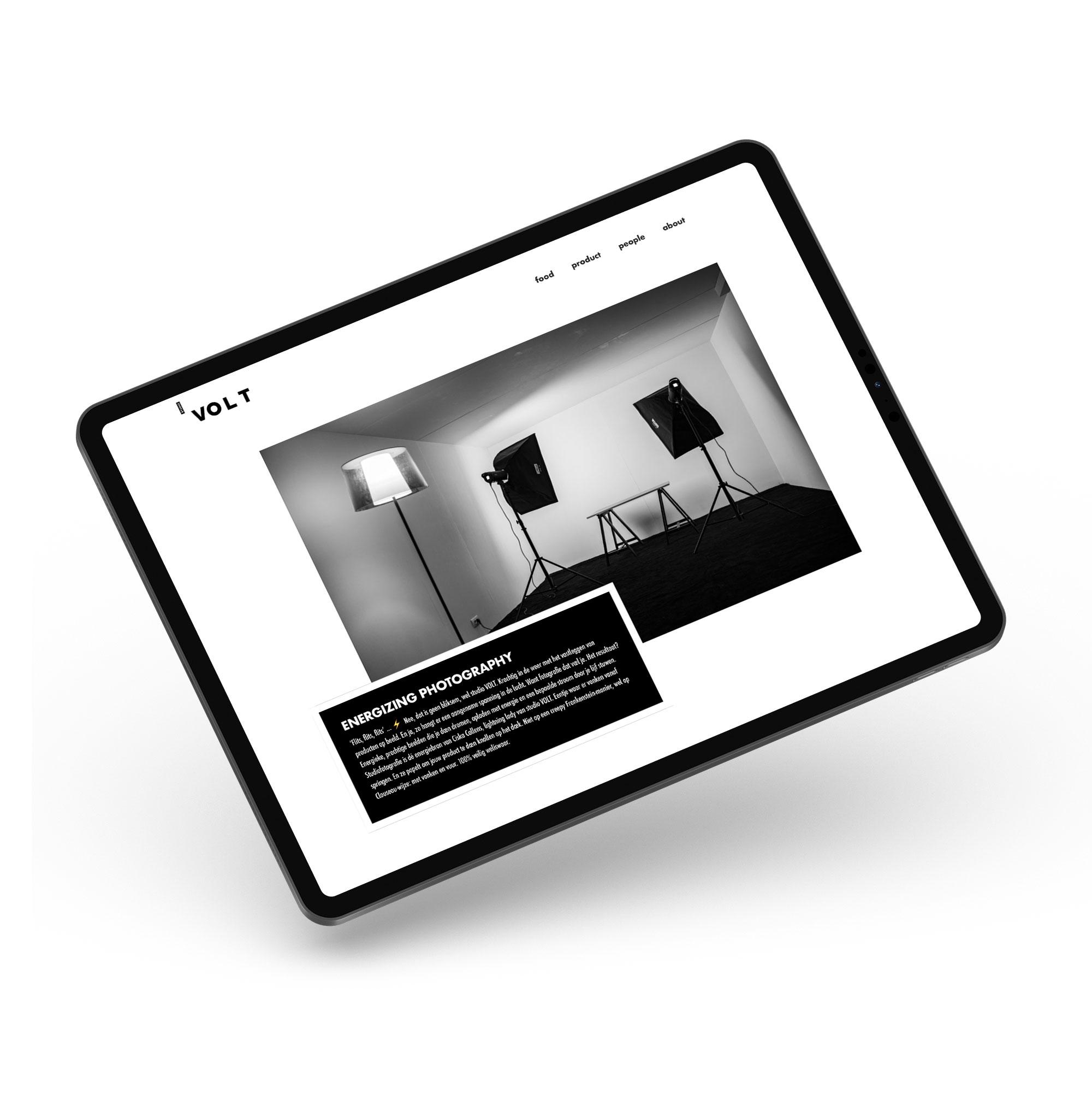Website voor Fotografie Ciska Callens van Studio Volt uit Ieper - Eagl