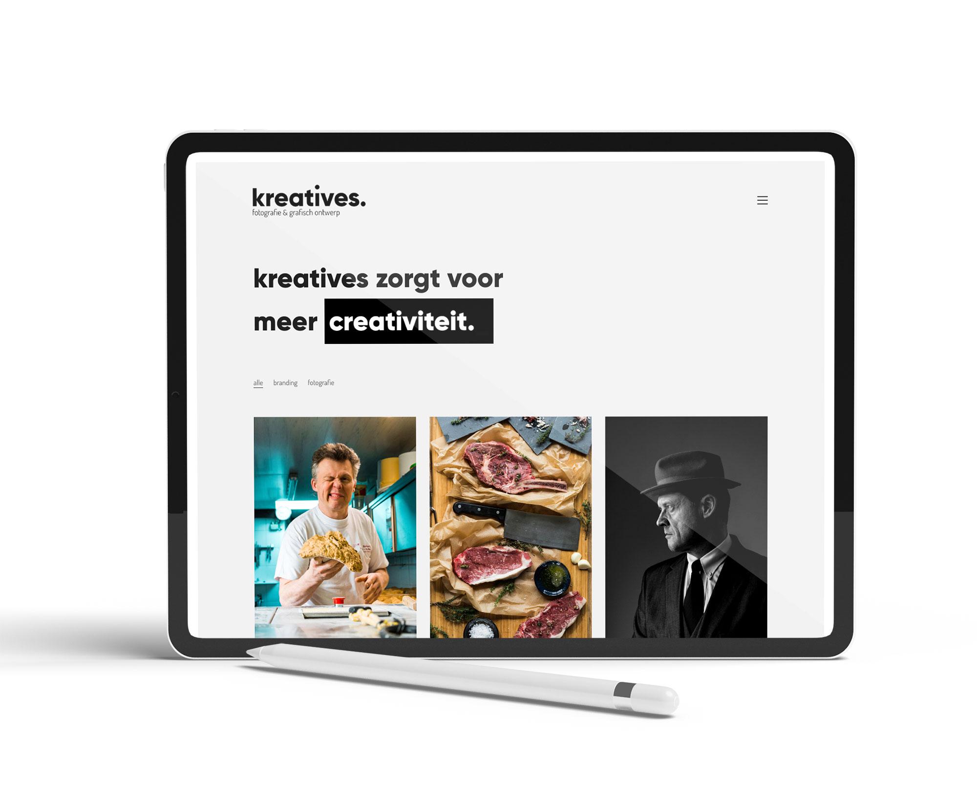 Website voor Kreatives uit Roeselare - Eagl